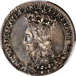 GREAT BRITAIN. Charles I Scottish Coronation at St. Giless Silver Medal, 1633. PCGS AU-53 Gold Shiel