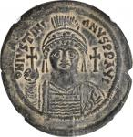 JUSTINIAN I, 527-565. AE Follis (22.08 gms), Cyzicus Mint, 1st Officinae, Year 15 (A.D. 541/2).