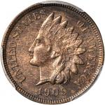 1909-S Indian Cent. MS-64 BN (PCGS).