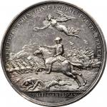 1781 William Washington at Cowpens medal. Betts-594. Silver. Original. Paris Mint. 46.3 mm, 768.6 gr