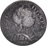 1787 Machin's Mills Halfpenny. Vlack 20-87C, W-7950. Rarity-6.  GEORGIVS III, Group III. VF-20.