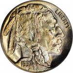 1937-D Buffalo Nickel. FS-901. 3-Legged. MS-65 (PCGS).