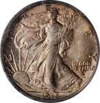 1916-D Walking Liberty Half Dollar. MS-65 (PCGS). OGH.