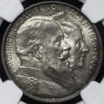 GERMANY Baden バーデン 2Mark 1906 NGC-MS64 UNC+
