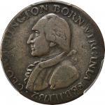 1789华盛顿像纪念铜币 PCGS F Details