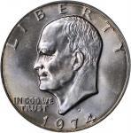 1974-D Eisenhower Dollar. MS-67 (PCGS). CAC.