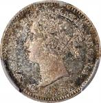 CANADA. 10 Cents, 1858. London Mint. Victoria. PCGS MS-65+ Gold Shield.