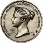 1860 Queen Victoria Royal Medal. Silver. First Size. Jamieson Fig. 33. Very Fine.
