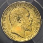 GREAT BRITAIN Edward VII エドワード7世(1901~10) Sovereign 1902 PCGS-PR62 Matte マットProof -UNC