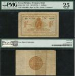 Treasury Series, Norman Fenwick Warren-Fisher (1919-1928), fractional 1 shilling, ND (28 November 19