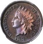 1883 Indian Cent. Proof-65 BN (PCGS).