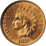 1879 Indian Cent. MS-65 RD (PCGS). CAC.