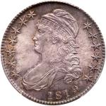 1819/8 Capped Bust Half Dollar. Large 9. PCGS MS65