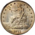 1877-S Trade Dollar. MS-65 (NGC).