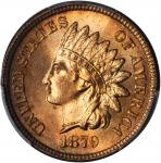 1879 Indian Cent. MS-66 RD (PCGS).