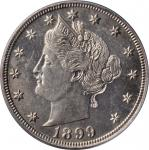 1899 Liberty Head Nickel. Proof-64 (PCGS). CAC. OGH.