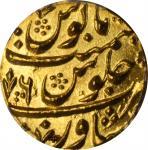AFGHANISTAN. Mohur, AH 1192 Year 6 (1792/3). Peshawar Mint. Taimur Shah. PCGS MS-66 Gold Shield.