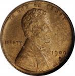 1909-S Lincoln Cent. V.D.B. MS-64 BN (NGC).