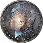 1881 Morgan Silver Dollar. Proof-67+ (PCGS). CAC.