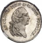 SUÈDE Adolphe-Frédéric (1751-1771). 1/2 riksdaler 1752 HM, Stockholm.