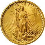 1911 Saint-Gaudens Double Eagle. MS-65 (PCGS). CAC. OGH--First Generation.