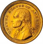 1903 Louisiana Purchase Exposition Gold Dollar. Jefferson Portrait. MS-67 (PCGS).