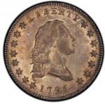 1795 Flowing Hair Half Dollar. Overton-126a. Rarity-4+. Small Head. MS-62 (PCGS).PCGS Population: 1,
