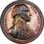 Circa 1859 Sansom medal. Presidency Relinquished. U.S. Mint restrike. Early impression. Musante GW-5