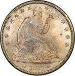 1874-CC Liberty Seated Half Dollar. Arrows. WB-3. Rarity-4. MS-66 (PCGS).