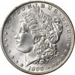 1898-O Morgan Silver Dollar. MS-67+ (PCGS). CAC.