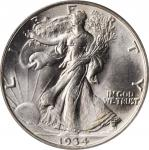 1934 Walking Liberty Half Dollar. MS-65 (PCGS). CAC--Gold Label. OGH.