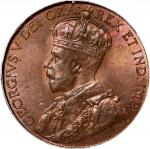 Canada: Newfoundland, 1 cent, 1913, CGS 80. A sharply struck coin with traces of red lustre in field