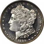 1889 Morgan Silver Dollar. Proof-66 (PCGS).