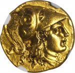 MACEDON. Kingdom of Macedon. Alexander III (the Great), 336-323 B.C. AV Stater (8.54 gms), Lampsacus
