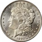 1892-CC Morgan Silver Dollar. MS-66 (PCGS).