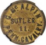 Pennsylvania. 11th Pennsylvania Cavalry. George McAlpin. 5 Cents. Schenkman PA-11b-5Ba (NY-D5Ba). Ra