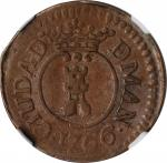 PHILIPPINES. Barilla, 1766. Manila Mint. Charles III. NGC VF-35 Brown.