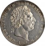GREAT BRITAIN. Crown, 1818. George III (1760-1820). PCGS MS-62 Secure Holder.