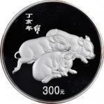 2007年丁亥(猪)年生肖纪念银币1公斤 完未流通