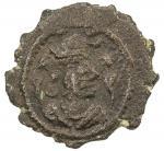 SASANIAN KINGDOM: Kavad, 488-497, 499-531, AE pashiz (0.79g), G-188var, SNS-280, standard design, st
