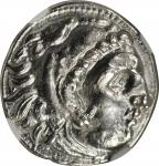 MACEDON. Kingdom of Macedon. Philip III, 323-317 B.C. AR Drachm, Sardes Mint, ca. 323-317 B.C. NGC C