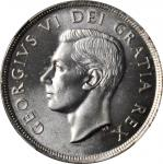 CANADA. Dollar, 1949. NGC MS-65+.