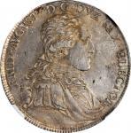 GERMANY. Saxony. Taler, 1801-IEC. Dresden Mint. Friedrich August III. NGC AU-58.
