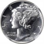1942 Mercury Dime. Proof-67 (NGC).