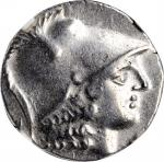 PAMPHYLIA. Side. AR Tetradrachm (16.33 gms), ca. 183-175 B.C. NGC AU, Strike: 5/5 Surface: 4/5.