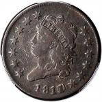1811/0 Classic Head Cent. S-286. Rarity-3. Fine-12 (PCGS).