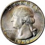 1947-D Washington Quarter. MS-67+ (PCGS). CAC.