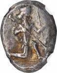 PERSIA. Achaemenidae. Darios I to Xerxes II, ca. 485-420 B.C. AR Siglos (5.38 gms), Sardes Mint. NGC