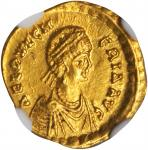 PULCHERIA (SISTER OF THEODOSIUS II & WIFE OF MARCIAN A.D. 414-453), AV Tremissis (1.49 gms), Constan