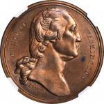 1876 U.S. Centennial Exposition. Independence Hall Dollar. Copper. 38 mm. HK-43, Musante GW-916, Bak